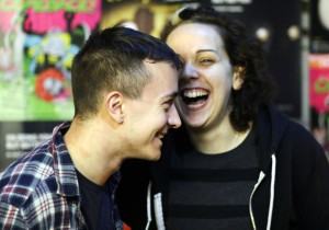Ryan Beattie and Sarah Wilson Riot Box